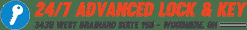 Advanced Lock & Key Company Logo.